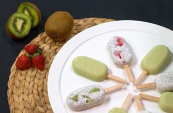 Hindistan Cevizli ve Çialı Dondurma