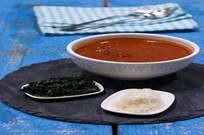 Ispanak Soteli Domates Çorbası