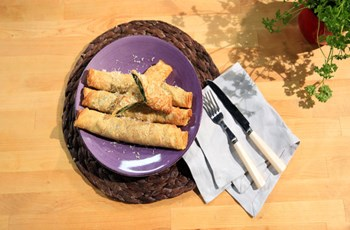 Ispanaklı Ricottalı Tam Buğdaylı Krep