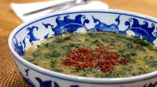 Ispanaklı Tarhana Çorbası