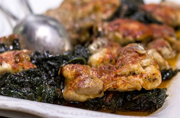 Ispanaklı Tavuk