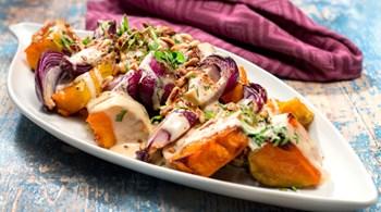 Karamelize Balkabağı Salatası
