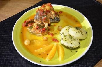 Karayip Usulü Balık Steak