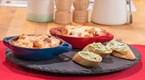 Karides Güveç & Sarımsaklı Ekmek