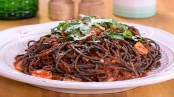 Karidesli Spagetti