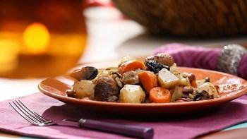 Kastanado (Kestane, kereviz, yerelmalı yemek)
