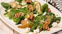 Keçi Peynirli Armut Salatası