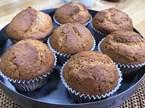 Kestaneli ve Beyaz Çikolatalı Muffin