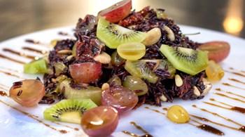Kivili, Üzümlü Yabani Pirinç Salatası