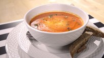 Körili Tavuklu Nohut Çorbası
