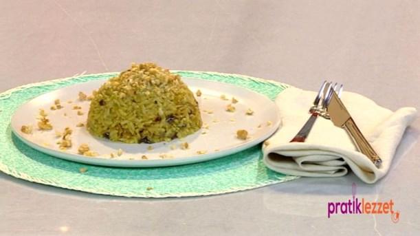 Körili ve Patlıcanlı Pilav Tarifi