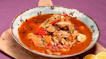 Kornati Adası Balık Çorbası