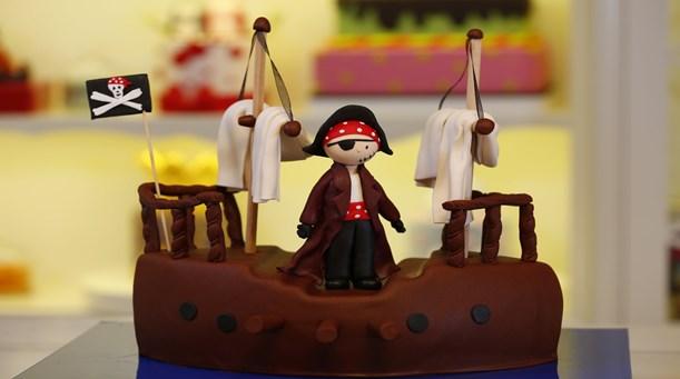 Korsan Temalı Pasta Tarifi