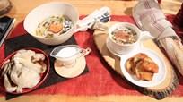 Kremalı Mantar Çorbası ile Brioche Kestane Kruton Tarifi