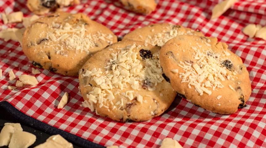 Kuru Meyveli Kolay Cookies