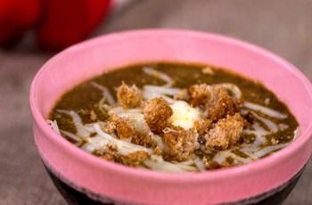 Labneli Sebze Çorbası