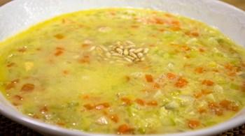Labneli Sebze Çorbası Tarifi