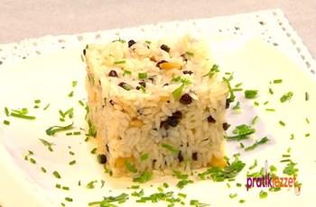 Limonlu Kuş Üzümlü Pirinç Pilavı