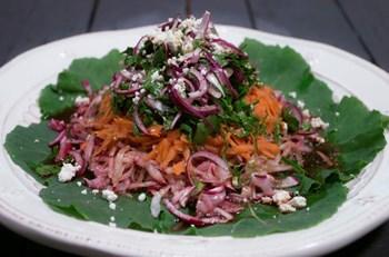Lorlu Turp Salatası