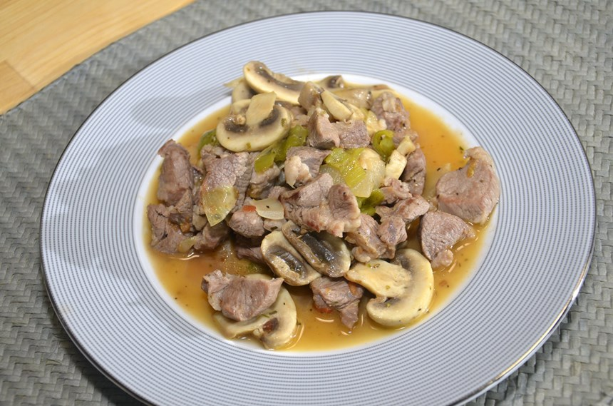 Kremalı mantar kremalı çorba