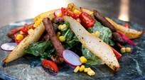 Mavi Peynir  Vinegretli, Armutlu Bonfile Salatası