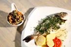 Meksika Fasulyeli Kiremitte Balık