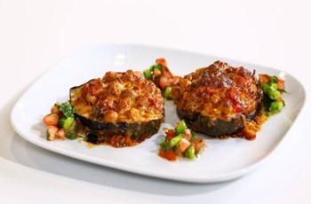Mercimekli ve Nohutlu Patlıcan Kebabı