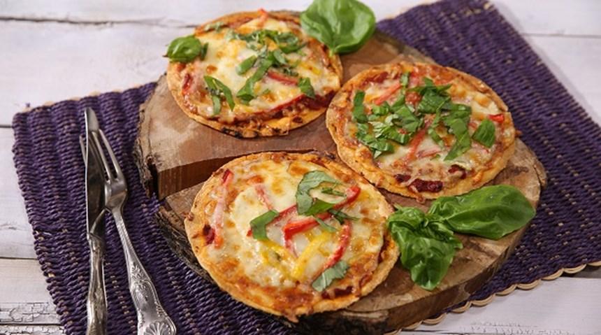 Mini Lavaş Pizza