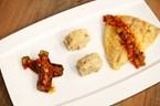 Mısır Unu ile Kızartılmış Akya Fileto (Narlı Dere Otlu Bebek Patlıcan ile Karamelize Cevizli Patates Lokumu Eşliğinde)