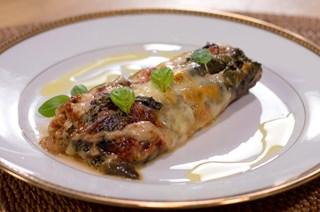 Mozzarellalı Fırında Patlıcan