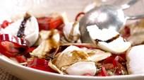 Mozzarellalı ve Enginarlı Salata