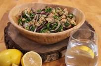 Nohutlu Karides Salatası