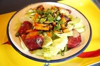Pancarlı Göbek Salata Tarifi