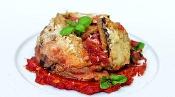 "Patlıcan Kulesi ""Melanzone Parmigian"""