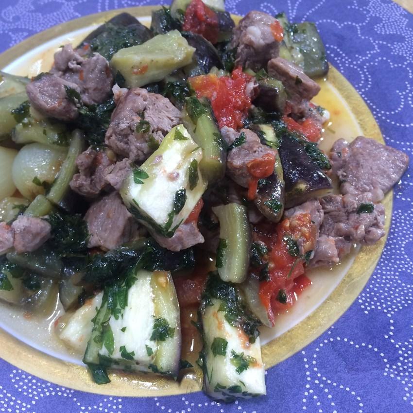 Patlıcanlı Kebap Tarifi