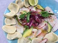 Peru Usulü Levrek Ceviche