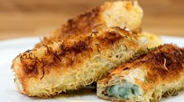 Peynirli Sarma ve Türüflü Bal