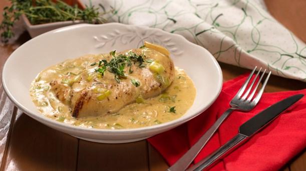 Peynir, hardal, kremsi sos. Yemek tarifleri