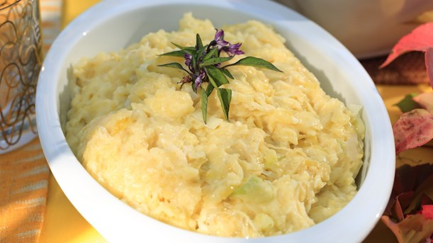 Pırasalı Patates Püresi