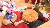 Pırasalı ve Tavuklu Milföy Pie Tarifi