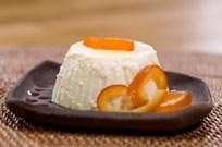 Portakallı Panna Cotta