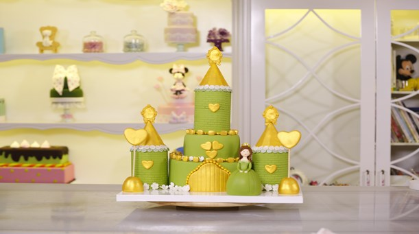Prenses Şatosu Temalı Pasta