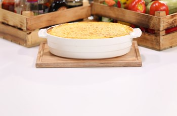 Ratatouille Dolgulu Polenta Lasagna