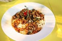Ratatouille Bolognese Spagetti