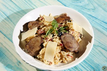 Roast Beef'li Risotto