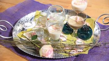 Sakızlı ve Lavantalı Medeival Pudding