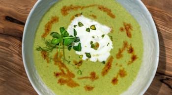 Şam Fıstığı Çorbası