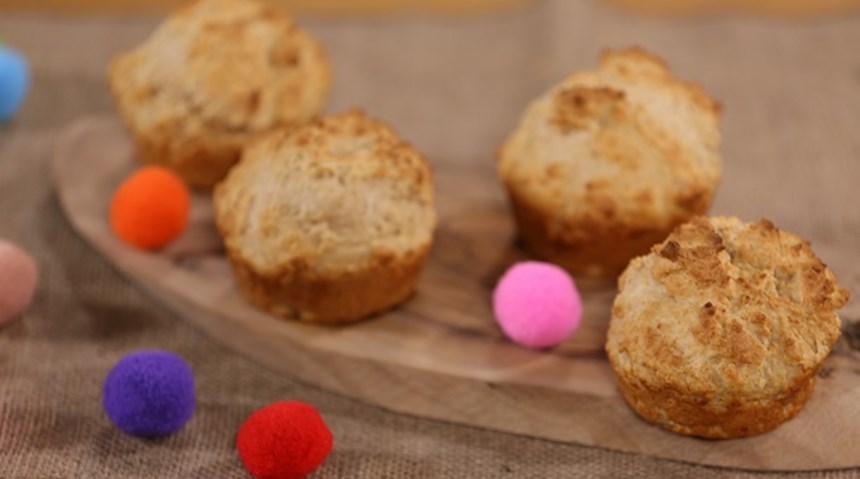 Sarımsaklı Muffin