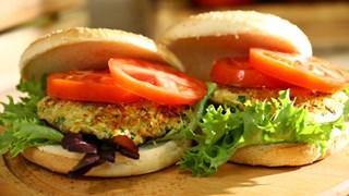 Sebzeli Burger