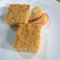 Şeftalili Ekmek Tatlısı Tarifi